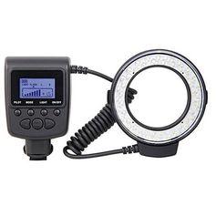 Iluminador-Circular-de-48-Leds-para-Cameras-Sony-Alpha