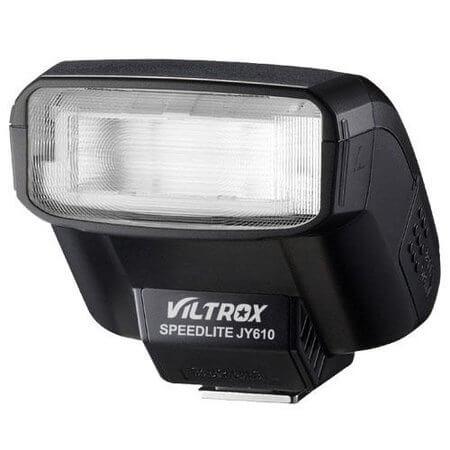 Flash-Speedlite-Viltrox-JY-610-Universal-para-Canon-Nikon-Pentax-Olympus