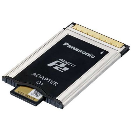 Adaptador-Panasonic-MicroP2---AJ-P2AD1G--
