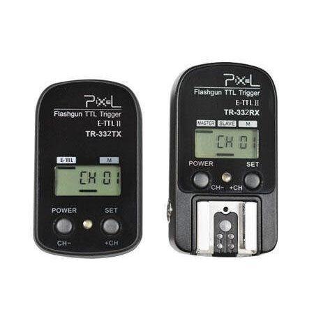 Radio-Flash-Pixel-Knight-TTL-Trigger-Para-Canon