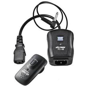 Radio-Flash-Sem-fio-Viltrox-FC-26-Universal-para-Canon-e-Nikon