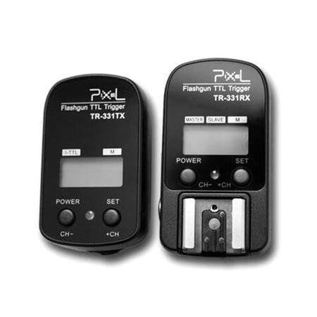 Radio-Flash-Pixel-Flashgun-TTL-TR-331-Trigger-para-Nikon