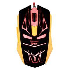 Mouse-Gamer-Neith-com-3200-DPI-com-7-Botoes--Vermelho-