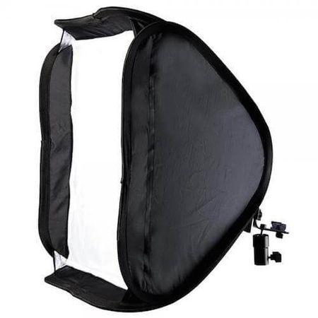 Softbox-de-50x50cm-para-Flash-Speedlite-com-Suporte