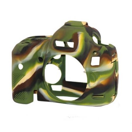 Capa-de-Silicone-para-Canon-5D-Mark-III---5DS-R---5DS---Camuflada