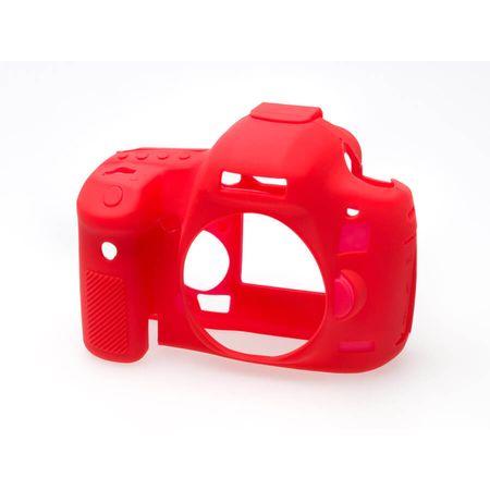 Capa-de-Silicone-para-Canon-5D-Mark-III---5DS-R---5DS---Vermelha