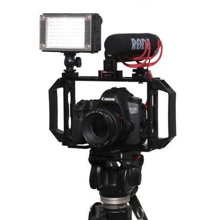 Gaiola-Grande-para-Camera-DSLR-com-encaixe-para-Leds-e-Microfones
