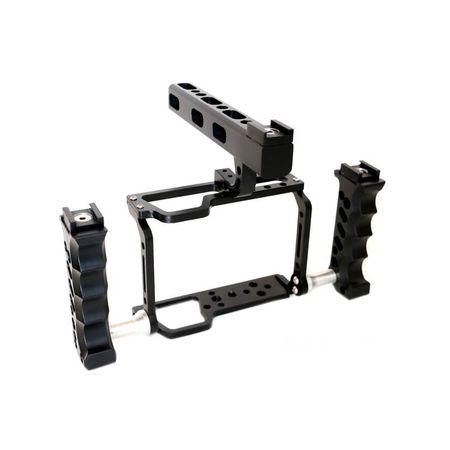 Gaiola-de-Aluminio-Maxi-Grua-para-Sony-Alpha-A7s-II-com-Sapata