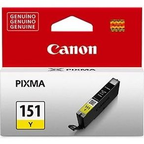 Cartucho CLI-151 Amarelo para Impressora Canon Pixma Series