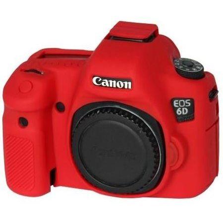 Capa-de-Silicone-para-Canon-6D---Vermelha