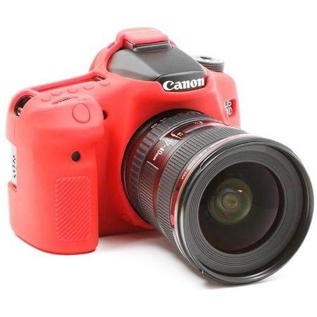 Capa-de-Silicone-para-Canon-SL1---Vermelha