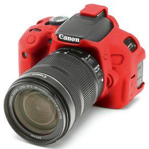 Capa-de-Silicone-para-Canon-T5i-e-T4i---Vermelha