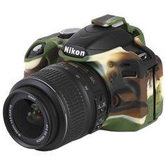 Capa-de-Silicone-para-Nikon-D3200---Camuflada