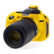 Capa-de-Silicone-para-Nikon-D5300---Amarela