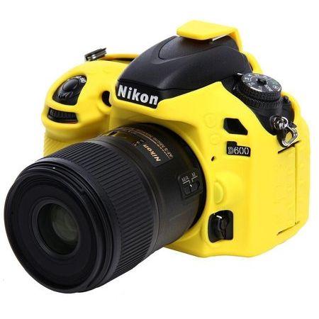 Capa-de-Silicone-para-Nikon-D600-e-D610---Amarela