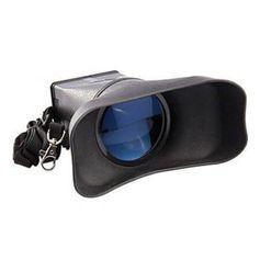Visor-Ocular-Duplo-para-Canon-5D-Mark-II-com-Ampliacao-3X