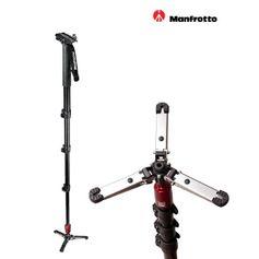 Monope-Manfrotto-562B-1-Fluido-com-Plate-de-liberacao-rapida