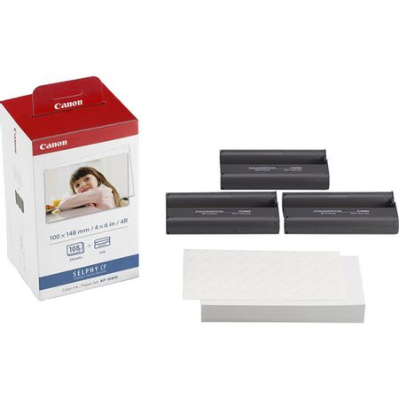 Papel-Canon-KP108IN-para-Impressoras-Canon-Selphy--KP-108IN-INK-PAPER---