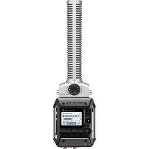 Gravador-Zoom-F1-SP-Field-com-Microfone-Shotgun