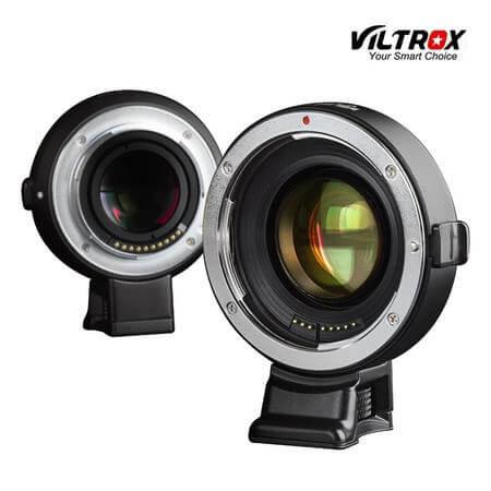 Adaptador-de-Montagem-Viltrox-EF--E-mount-Auto-Focus-AF-para-Lente-Canon-EF-em-Cameras-Sony-E-Mount-