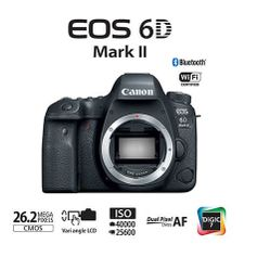 Camera-Canon-EOS-6D-Mark-II--So-o-Corpo-