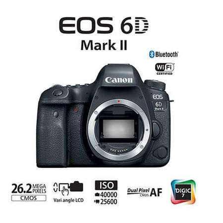 Camera-Canon-EOS-6D-Mark-II--So-o-Corpo-