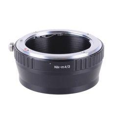 Adaptador-de-Lente-Nikon-AI-para-Cameras-Blackmagic-M4-3--Nik-M4-3-