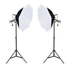 Kit-Luz-Continua-para-Estudio-Fotografico-Newborn-3-de-300w-com-Softbox-Octagonal-e-Tripe--110v-
