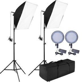 Kit-de-Iluminacao-Luz-Continua-em-LED-para-Estudio-Fotografico
