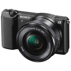 Camera-Mirrorless-Sony-a5100-com-Lente-16-50mm--ILCE-5100L-