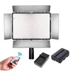 Iluminador-de-Led-600-LEDs-Greika-TL-600AS-com-controle-remoto-e-bateria
