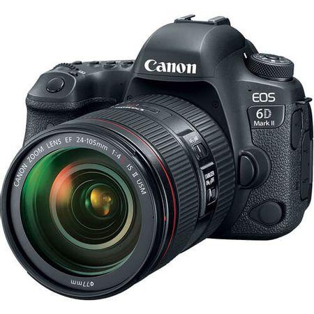 Camera-Canon-EOS-6D-Mark-II-com-Lente-24-105mm-f-4L-II-IS-USM