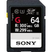 Cartao-SDXC-64GB-Sony-UHS-II-U3-Serie-G-de-300Mb-s--Classe10-