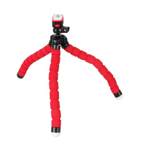 Mini-Tripe-Flexivel-Gorila-KT-600-Vermelho