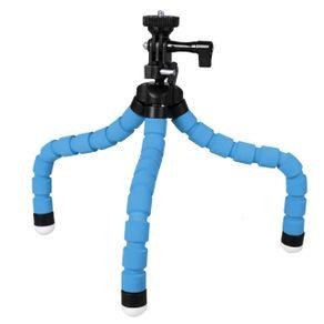 Mini-Tripe-Flexivel-Gorila-KT-600s-com-Cabeca-360---Azul