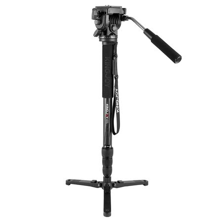Monope-Profissional-para-Videos-Kingjoy-MP3208-com-Cabeca-Semi-Hidraulica