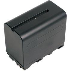 Bateria-NP-F960-F970-para-Sony-e-Iluminadores---6600mAh-e-7.4V--