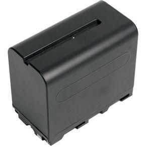 Bateria NP-F960  F970 para Sony e Iluminadores (7200mAh e 7.2V)