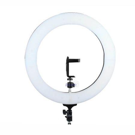 """Iluminador-de-LED-Ring-Light-18""""-80W-de-3200-5500K--com-Fonte-Bivolt-"""