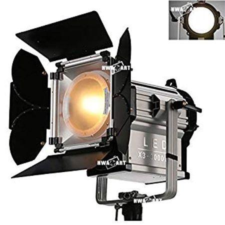 Iluminador-Fresnel-de-Led-NiceFoto-X3-3000ws-Bi-Color--Bivolt-