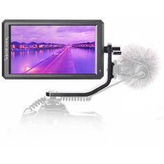Monitor-de-Camera-F6-de-57--Full-HD-HDMI-com-Suporte-4K-e-Braco-de-Inclinacao-
