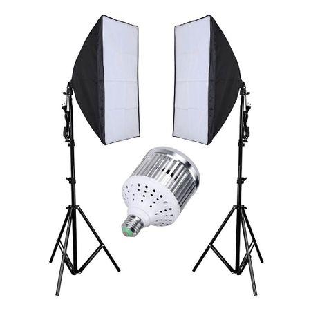 Kit-de-Iluminacao-de-Led-18W-com-2-Softbox-para-Estudio-Fotografico--Bivolt-