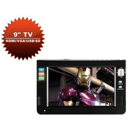 Monitor-Multimidia-de-9--LCD-TV-HDMI-VGA-AV-e-USB-com-Controle-Remoto