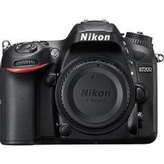 Camera-Nikon-D7200-DSLR--Corpo-