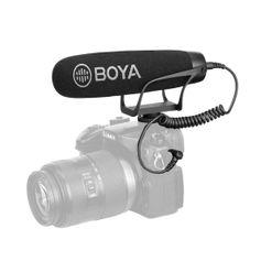 Microfone-Shotgun-Direcional-Boya-BY-BM2021-para-Cameras-DSLR-e-Filmadoras