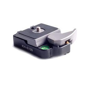 Base-com-Plate-Quick-Release-KH-6100-Kingjoy-de-Conexao-Rapida