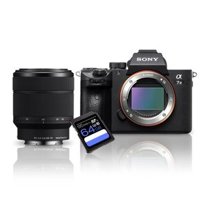 Kit-Sony-a7III-Mirrorless---Lente-Sony-FE-28-70mm--SEL2870----Cartao-SDXC-64Gb