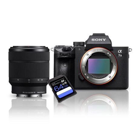 Kit-Sony-a7III-Mirrorless---Lente-Sony-FE-28-70mm--SEL2870----Cartao-SDXC-64Gb
