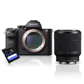-Kit-Sony-a7R-II-Mirrorless---Lente-Sony-FE-28-70mm--SEL2870----Cartao-SDXC-64Gb