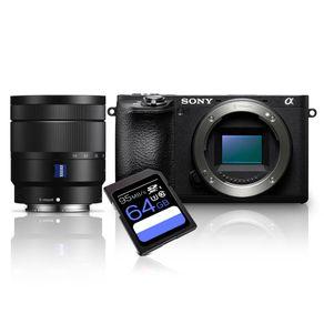 Kit-Sony-A6500-Mirrorless-4K---Lente-Sony-16-70mm--SEL1670Z----Cartao-SDXC-64Gb